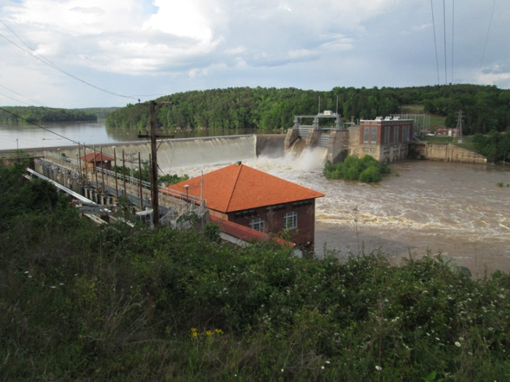 Catawba Flood April 2031.CedarCreekDam